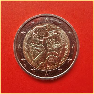 2 Euros Francia 2017 Rodin