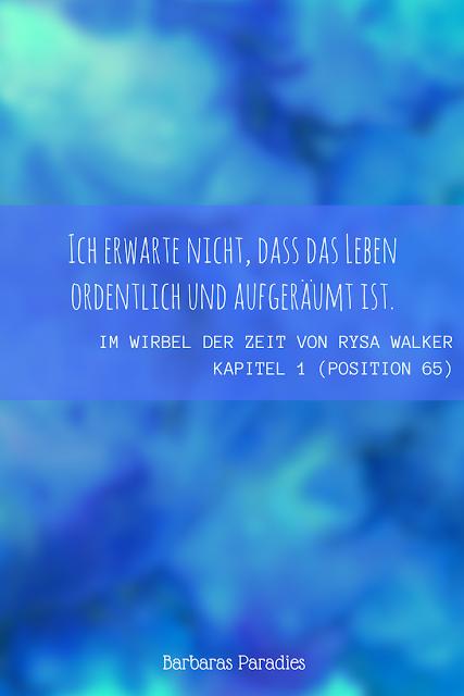 Buchrezension #138 Im Wirbel der Zeit von Rysa Walker