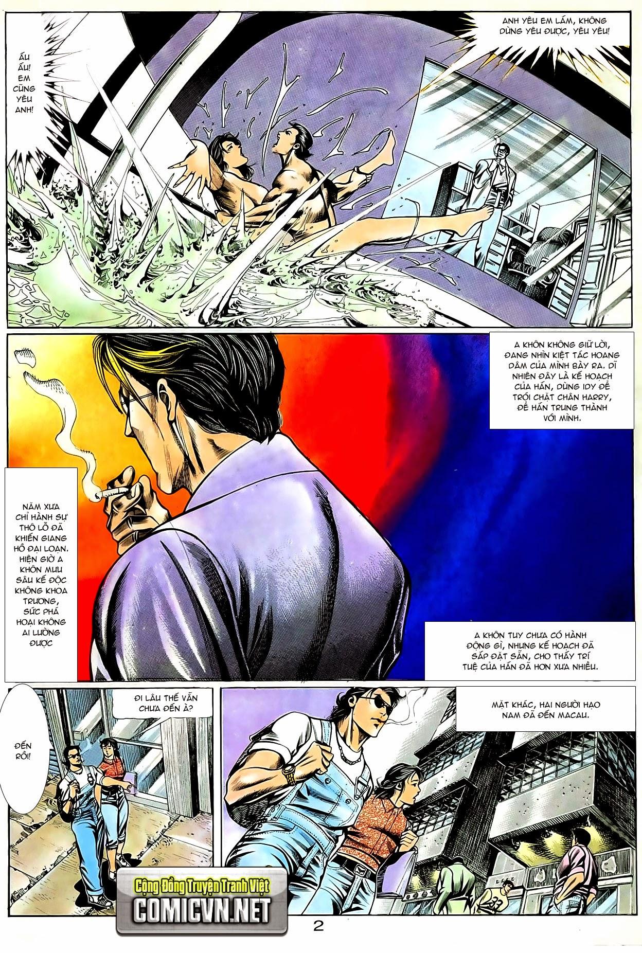 Người Trong Giang Hồ chapter 80: macau nổi sóng gió trang 16