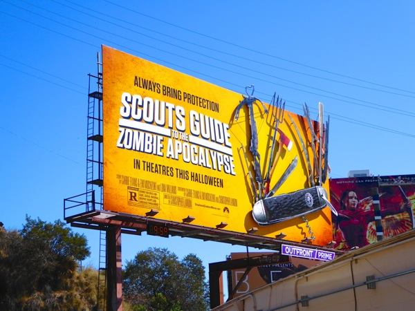 Scouts Guide to Zombie Apocalypse billboard