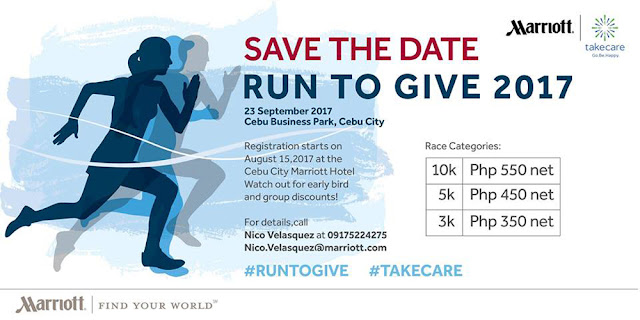 Cebu City Marriott Hotel Run To Give 2017