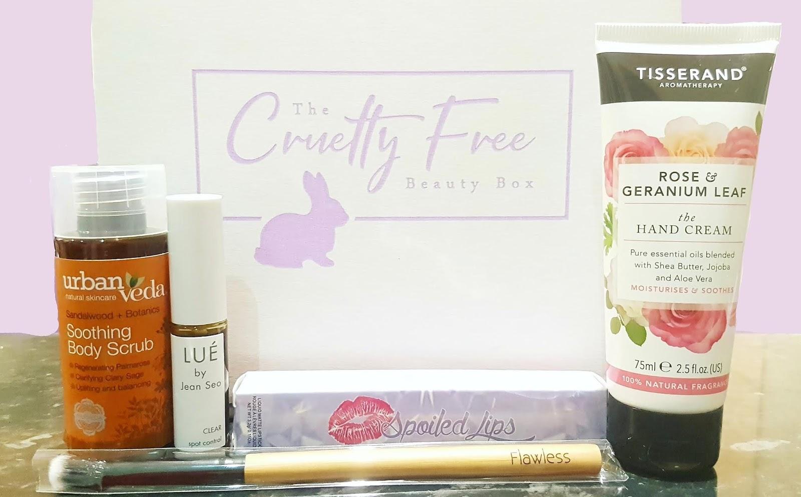 The Cruelty Free Beauty Box subscription