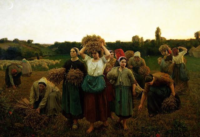 La crida de les espigolaires Jules Breton