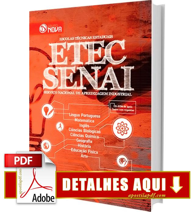 Apostila ETEC 2016 Apostila Vestibulinho ETEC 2016 Impressa