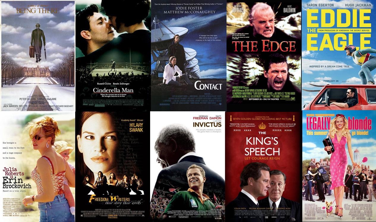 20 inspirational movies