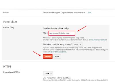 TUTORIAL Mengganti Domain Blog dengan Domain Sendiri 43