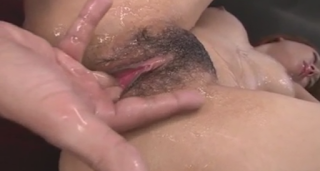 Busty Rei Loves Cum on Her Pussy after Rough Hardcore