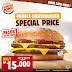 Burger King Promo Double Cheeseburger Harga Cuma 15 Ribu