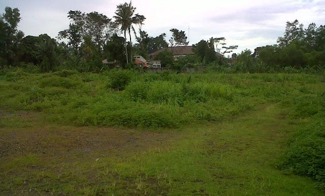 Tanah Dijual Untuk Kavling Rumah