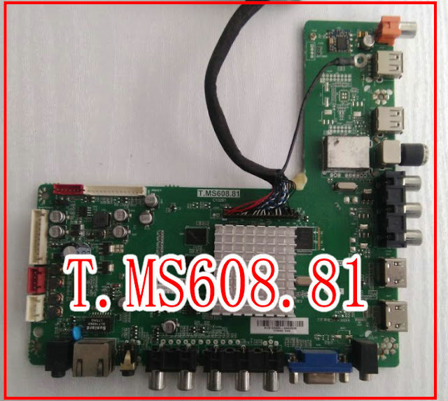 T.MS608.81 Smart LED TV Board Firmware Free Download