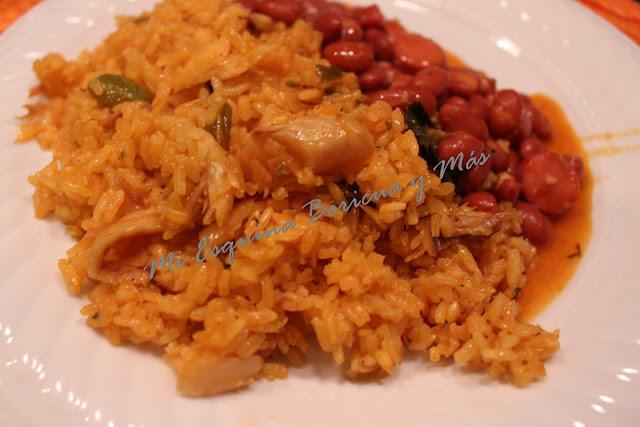 Mi esquina boricua y m s arroz con bacalao - Arroz con bacalao desmigado ...