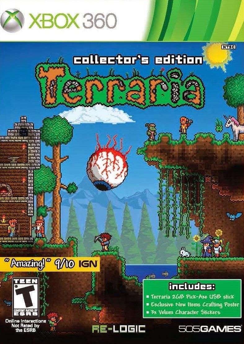 Terraria Xbox 360 Espanol Region Free Xgd2 Insomni