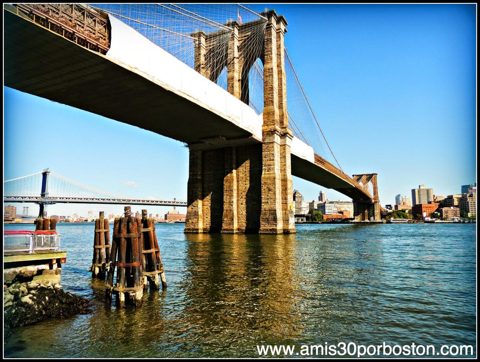 Segunda Visita a Nueva York: Puente de Brooklyn