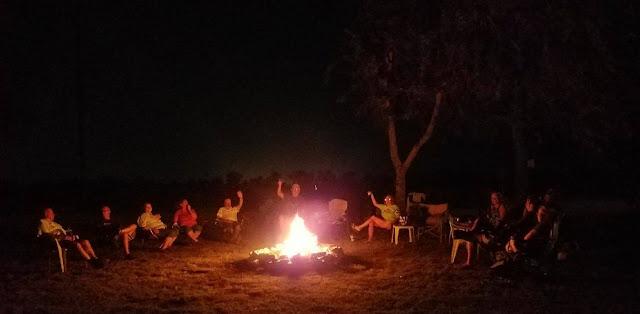 Hidden Vallians sitting around the campfire
