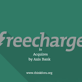 FreeCharge Acquires by  Axis Bank
