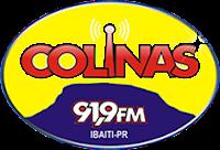 Estúdio ao vivo da Rádio Colinas FM ao vivo