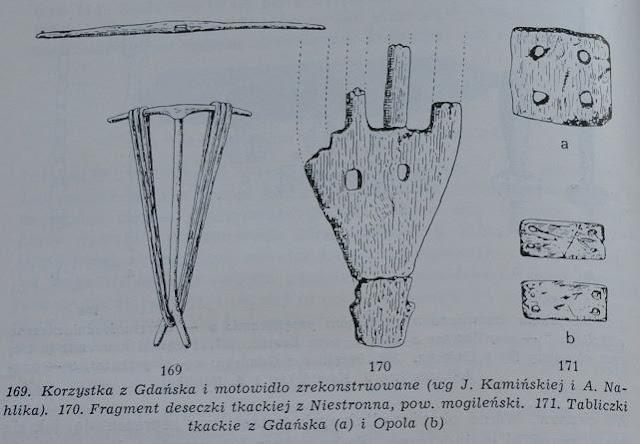 Domniemane bardko wczesnośredniowieczne z Niestronna - rycina