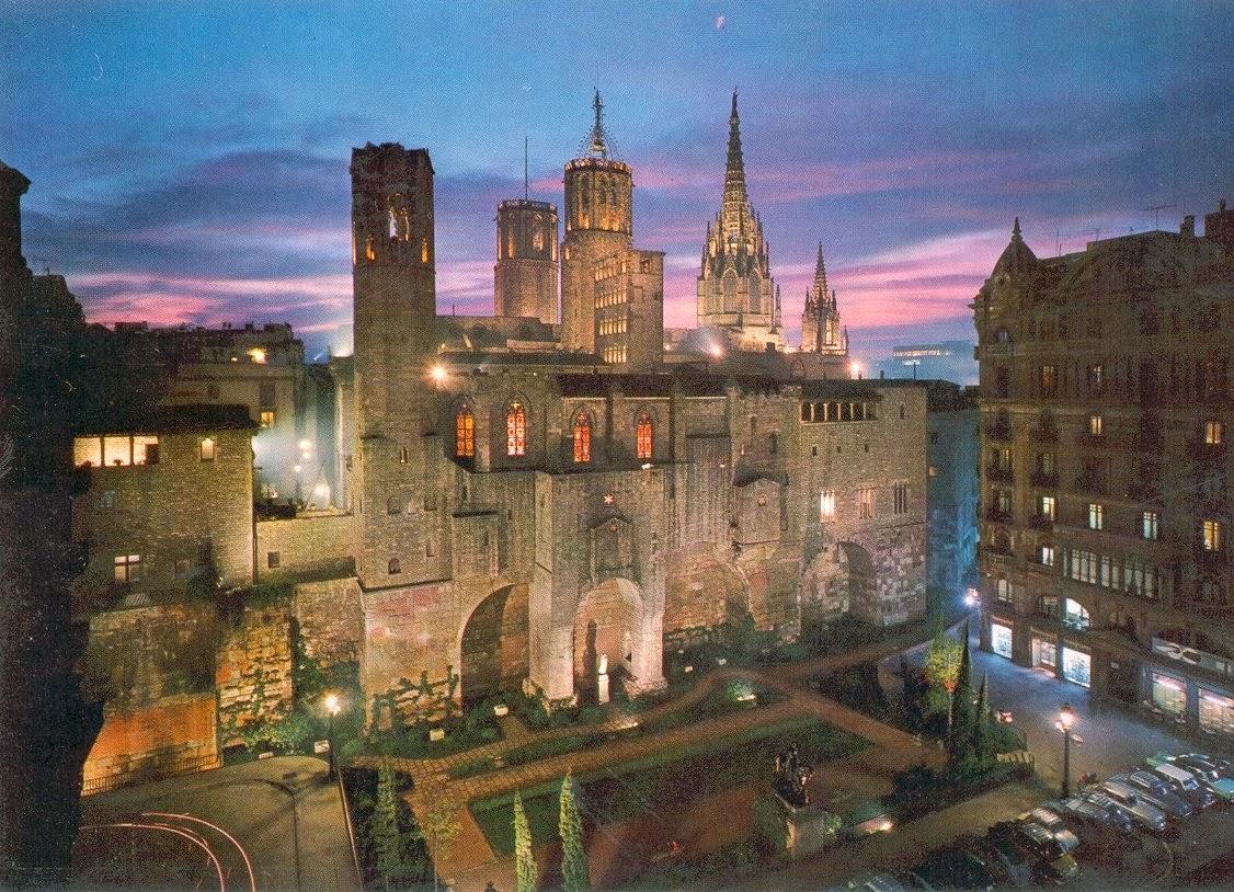 Catedral-de-Barcelona-Espanha