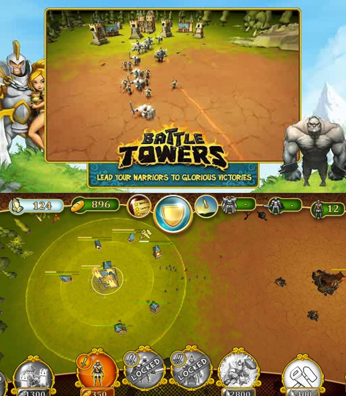 Download Game Warrior Market Mayhem Mod Apk: Download Battle Towers MOD APK (Unlimited Money