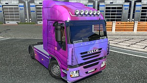 Brush paint Iveco Stralis skin