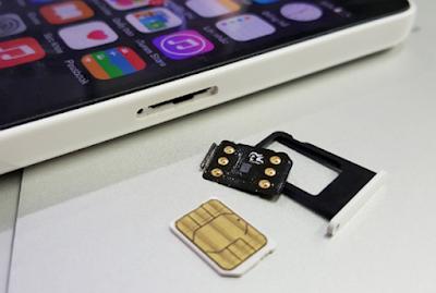 Dùng sim ghép cho iPhone 5 lock Nhật