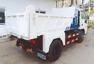 Xe ô tô tải tự đỗ isuzu QKR55F cục đăng kiểm Việt Nam