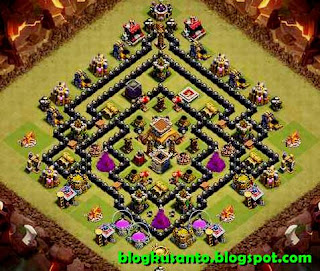 Base COC th 8 Anti Naga dan Gowipe 05