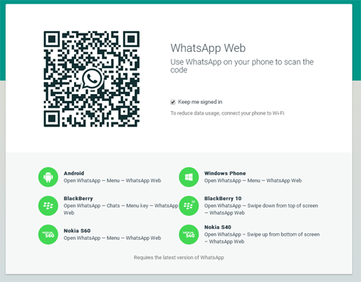 whatsapp web client choozurmobile