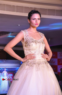 South Indian Celebrities Pos at Love For Handloom Collection Fashion Show  0001.jpg