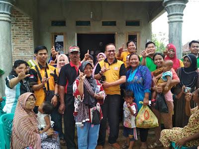 Lasmura Lampung Peduli Bencana Banjir Metro
