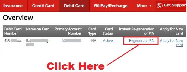 how to generate atm pin for kotak mahindra bank debit card