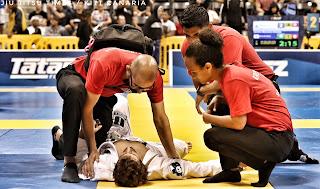 Cómo entrenar con lesiones en brazilian jiu jitsu