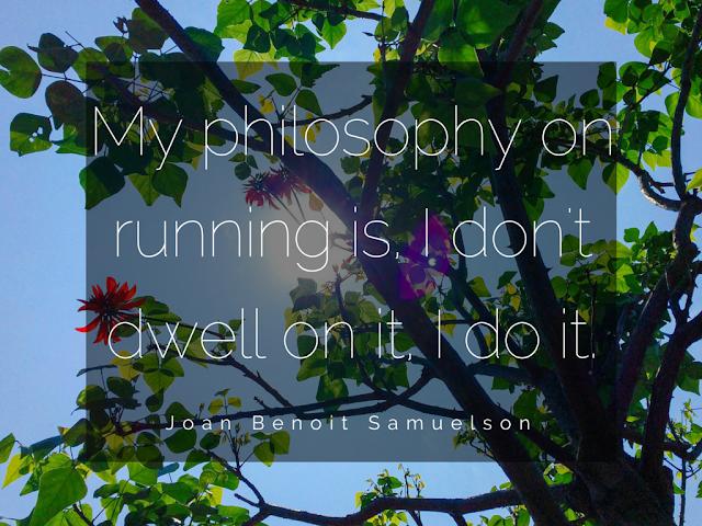 Zitat von Samuelson zum Thema Laufen