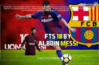 FTS 18 by Alboin Messi Apk + Data Obb