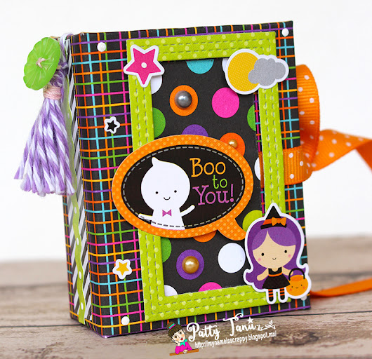 MINI ALBUM HALLOWEEN!!!!! DOODLEBUG DESIGN!!!!!