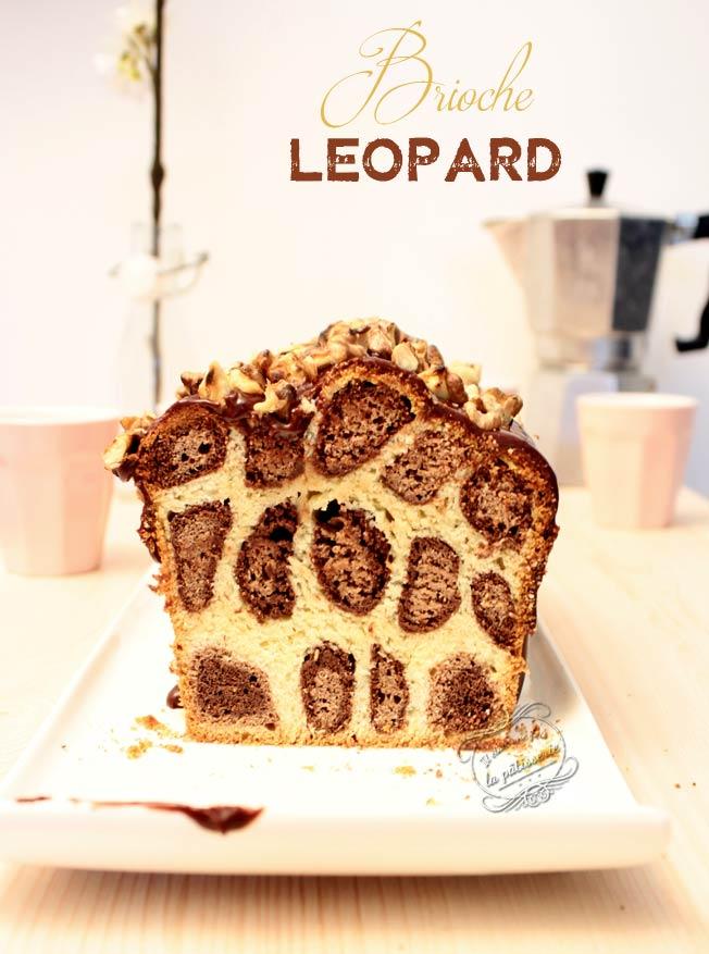 recette brioche léopard