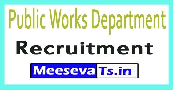 Public Works Department PWD Recruitment