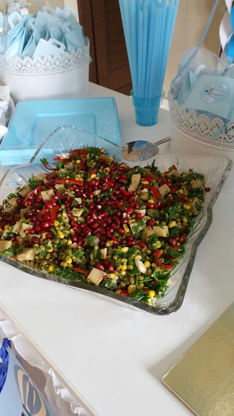 Enginarlı Maş Fasülyesi Salatası