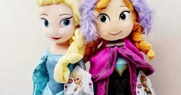 Bongbongidea Disney Frozen Elsa Amp Anna Doll Plush Soft
