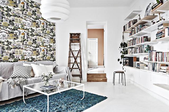 Decor plin de personalitate într-un apartament de 53 m²