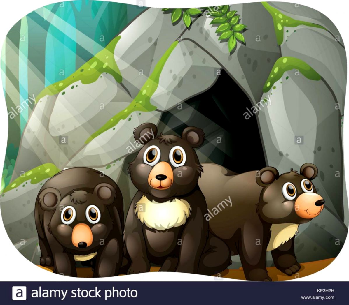 Bear Cave Clipart Wallpapers Imgur