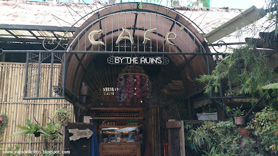 cafe by the ruins chuntug baguio exterior