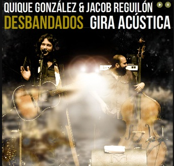 Quique González y Jacob Reguilón 'Desbandados' en Madrid
