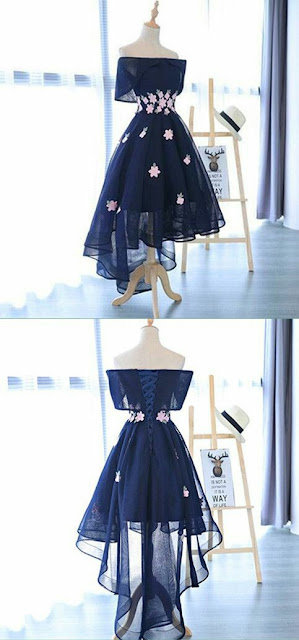 Party-dress-dark-navy-blue