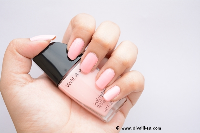 Wet n Wild Wild Shine Nail Color Tickled Pink Nails