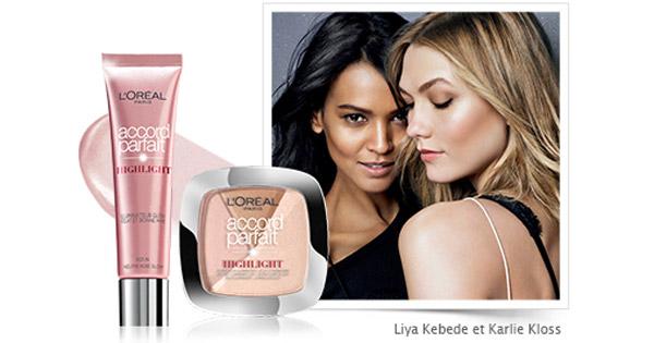 100 Enlumineurs Highlight Accord Parfait de l'Oréal à tester !