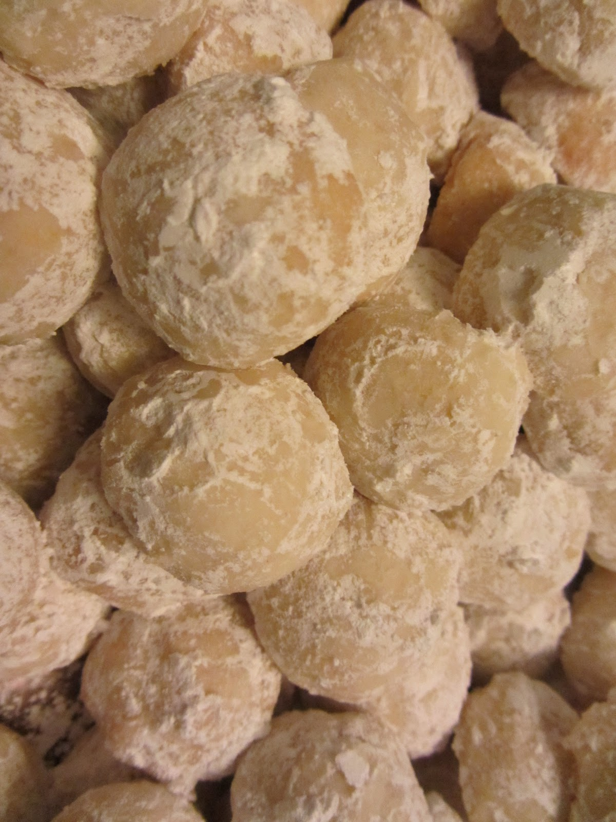 Recipes From The Avenue Hotel Lemon Snowball Cookies