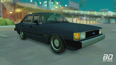 Download mod carro antigo classico brasileiro Chevrolet Opala Comodoro 1985 para o jogo GTA San Andreas