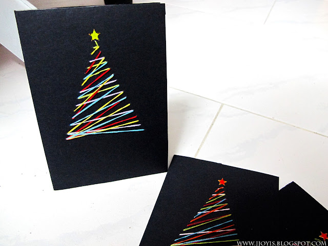 Easy diy xmas card ideas