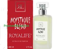 Logo Vinci gratis una confezione del profumo Mystique Blend